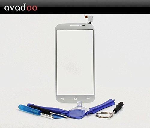 avadoo® Alcatel One Touch Pop C7 Display Touchscreen Weiß Reparaturglas Touch Screen Display Glas für das Alcatel One Touch Pop C7 in Weiß inklusive Werkzeugset und Beschreibung !!! (Pop Touch C7 One)