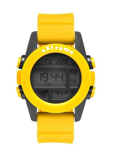 Addison Ross Unisex-Armbanduhr Extreme Digital Silikon gelb WA0505