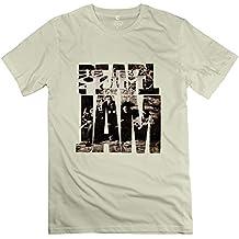 Short Sleeve Herren's T-shirt Pearl Jam Grunge Pop Wei? Medium