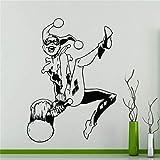 jiuyaomai Papier Peint Bricolage Clown Sticker Mural Autocollant Art Décoration de la Maison n'importe Quelle Chambre Étanche St 78x109cm