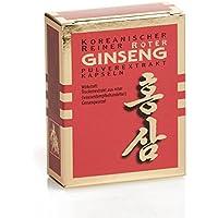 Koreanischer Reiner Roter Ginseng - Extrakt Kapseln - Monatskur, 30 Stk