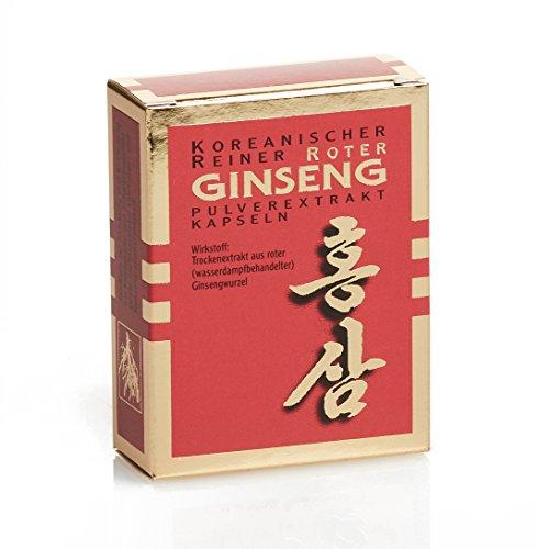 Koreanischer Reiner Roter Ginseng - 30 Extrakt Kapseln