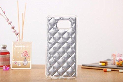 Pour iPhone 6 Plus/6s Plus Coque, iNenk® Doux TPU Avec PU Cuir Téléphone Coque Solide Mode Creative Shell Couverture Housse protection Pour femmes And hommes-Argent Argent