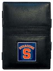 NCAA Syracuse Orange Leather Jacob's Ladder Wallet