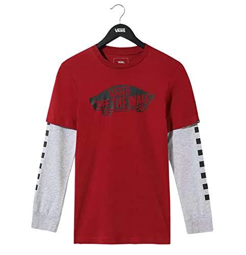 Vans OTW Twofer Biking T-Shirt Kinder Granat 6-8 Jahre (116-128 cm)