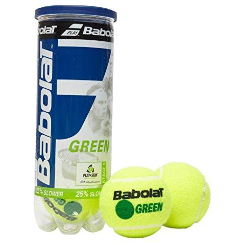 Babolat Green Tennisbälle (3 Ball Can), Grün, Einheitsgröße