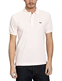 Lacoste - L1212 - Polo Homme, Rose, XXXX-Large (Taille fabricant : 9)