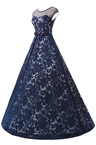Missdressy - Robe - Trapèze - Femme Bleu Marine