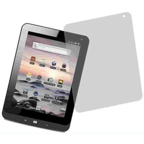 Entspiegelnde Displayschutzfolie von 4ProTec für Coby Kyros Tablet MID 1126 - Nahezu blendfreie Antireflexfolie