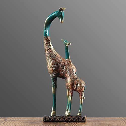 BMY Escultura Minimalista Moderna Resina Escultura