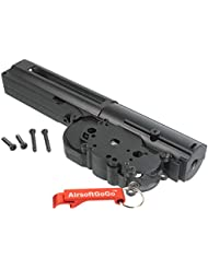 CYMA Carcasa de Gearbox para Cyma M14 / G&P M14 Airsoft AEG - AirsoftGoGo Llavero Incluido
