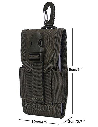 Menschwear Outdoor multiuso tattico Pouch Utility Gadget cintura marsupio Cachi Verde