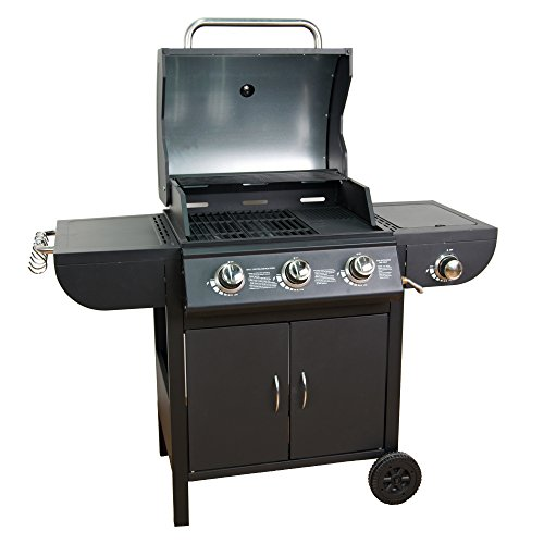 Mayer Barbecue ZUNDA Gasgrill MGG-531 Basic mit Seitenbrenner