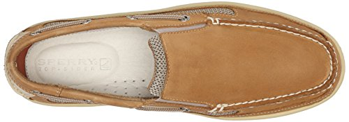 Sperry Billfish Slip On Tan, Mocassins hommes Marron-TR-E2-7
