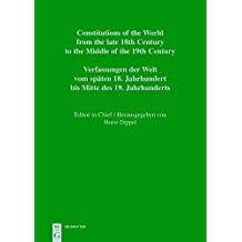 Constitutions of the World from the late 18th Century to the Middle of the 19th Century. The Americas: Constitutional Documents of Colombia and Panama ... Middle of the 19th Century: America, Band 3)