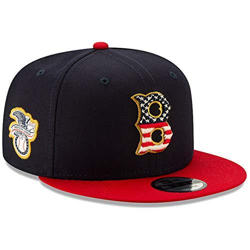 New Era Boston Red Sox 4th of July 2019 MLB 9FIFTY Snapback Cap, One Size Sox Snap