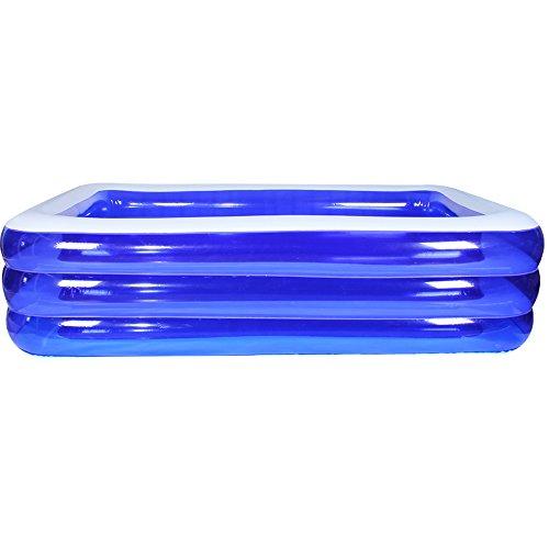 SYF PVC Im Freien Großes Planschbecken Für Erwachsene | Badebecken Dickes Aufblasbares Schwimmbecken | Outdoor-Umweltschutz Elektrische Luftpumpe Für Erwachsene A++ (größe : C)