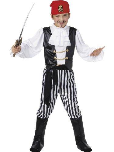 Pirat Kostüm Jungen Deluxe - Smiffys Karneval Kinder Kostüm Piraten Junge Deluxe Seeräuber Gr.7-9 Jahre
