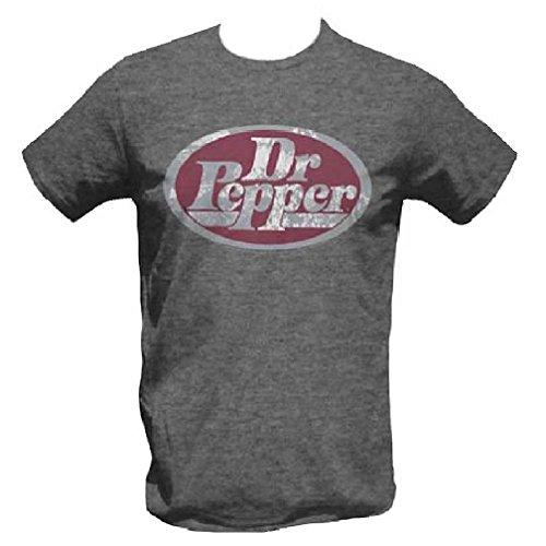 dr-pepper-logo-con-licencia-camiseta-poliester-mezcla-de-algodon-aspecto-clasico