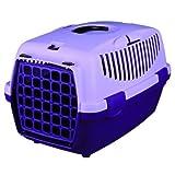 Trixie Capri Pet Carrier (19 x 13 x 12 inch, Violet)