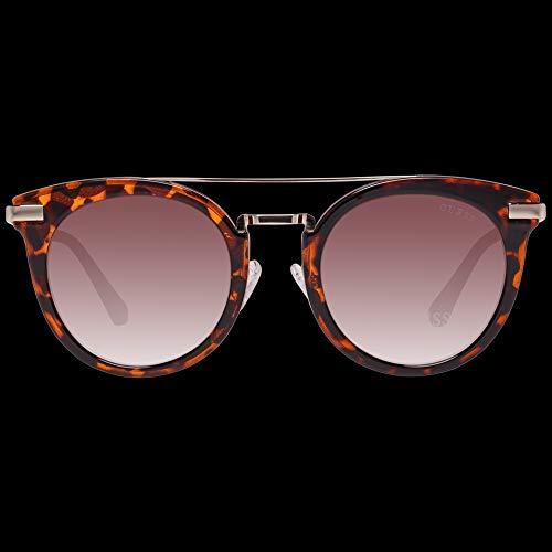 guess sunglasses gf6046 52f 49 occhiali da sole, marrone (braun), donna