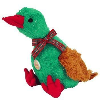 fcde50ce95e TY Beanie Baby - GREETINGS the Duck (BBOM December 2004)  Toy  by
