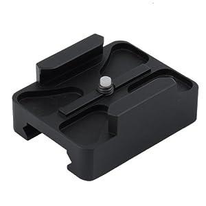 Neewer Mini Rail Monture Glissières-Guides Pour GoPro HD Hero 2/3 Centre Montage Picatinny Weaver Balle Peint