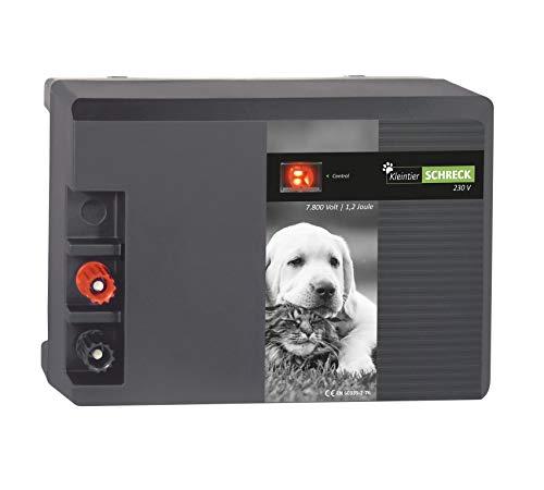 Eider Weidezaungerät KleintierSCHRECK - 230 Volt - modernes Gerät speziell für die Kleintierhaltung - Made in Germany