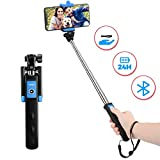 Bluetooth Selfie Stick, Mpow Extendable Monopod Clamp Phone Holder with Wireless Remote for Travel Family Photos-Compatible for iPhone 11/Pro/ XS/Xr/XS Max/8/Plus/7/X Plus/6S, Galaxy S10/S9/8/7