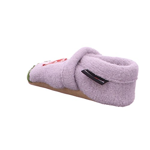 HAFLINGER Babyschuh Pilzi Schuhe Kinder Hausschuhe Babyschuhe Grau 653055 0 2 Stein