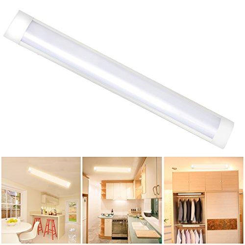 LED Batten Licht T10 Tube Lamp Wandleuchten mit Staubschutz Kronleuchter Strip Lights für Fabriken Workshop Bad Balkon Flur Schlafzimmer Esszimmer Küche Supermarkt 1ft/30CM 750LM 10W 3000K 1pc XYD®