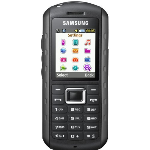 Samsung B2100 Outdoor Handy (1,3 MP-Kamera, MP3, IP57-Zertifizierung, wasserdicht) [EU-Version] scarlet-red Samsung 8 Gb Mp3