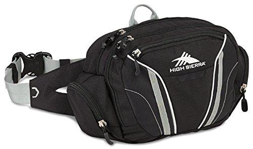 high-sierra-envoy-waistpack-unisex-adulto-black-black-silver-taglia-unica