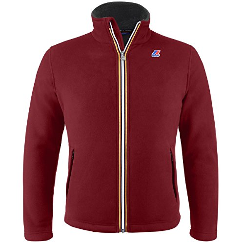Felpa - Pascal Fur Bonded - Red Scarlet - XXXL