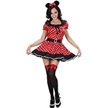Disfraz de Minnie Mouse disfraz–disfraz para mujer disfraz de ratón ratón disfraz vestido de lunares Disney disfraz de animales disfraz de vestido, cuento de hadas