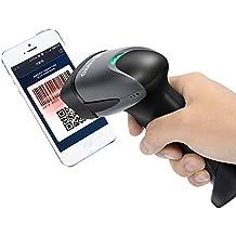 Eyoyo EY-001 Lector Código QR escáner de mano con cable 1D 2D CCD Lector de Código de Barras con USB