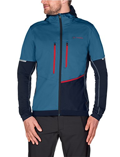 VAUDE Herren softshelljacke Larice Rapidity Jacket Washed Blue