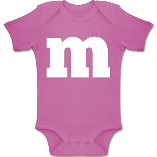 15 Gruppe Für Kostüm - Shirtracer Karneval und Fasching Baby - Gruppen-Kostüm m Aufdruck - 12-18 Monate - Pink - BZ10 - Baby Body Kurzarm Jungen Mädchen