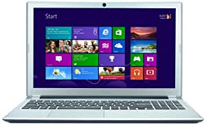 Acer Aspire V5-571P 15.6-inch Touchscreen Laptop (Silver) (Intel Core i5 3317U, 6GB RAM, 500GB HDD, DVDSM DL, LAN, WLAN, BT, Webcam, Integrated Graphics, Windows 8)