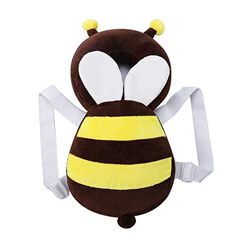 Vektenxi Biene Baby Kleinkind Sicherheit Kopfstütze Kopfschutz Pad Fallschutz Anti-Shock Kissen Rückenprotektor für Kinder zu Lernen, zu gehen oder zu Laufen