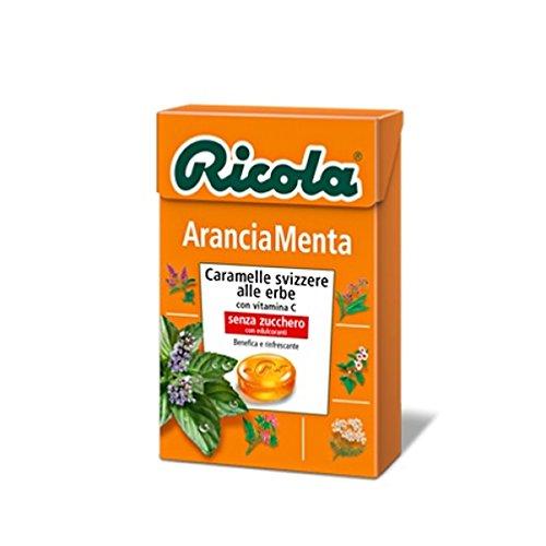 divita-ricola-astuccio-caramelle-svizzere-alle-erbe-arancia-menta-senza-zucchero