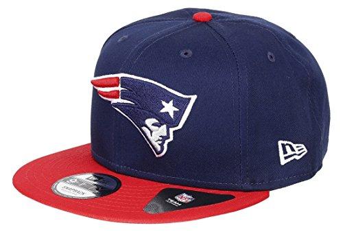 New Era Team Classic 9Fifty Snapback Cap New England Patriots Dunkelblau Rot, Size:M/L Nfl-team-snap