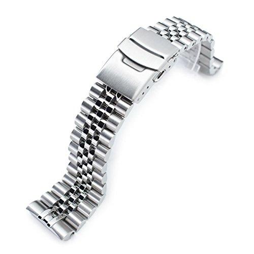 Cinturino spazzolato per orologio Super Jubilee per Seiko da 22 mm mod New Turtles SRP777 & Padi SRPA21