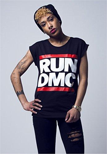 Ladies Run DMC Logo Tee black M