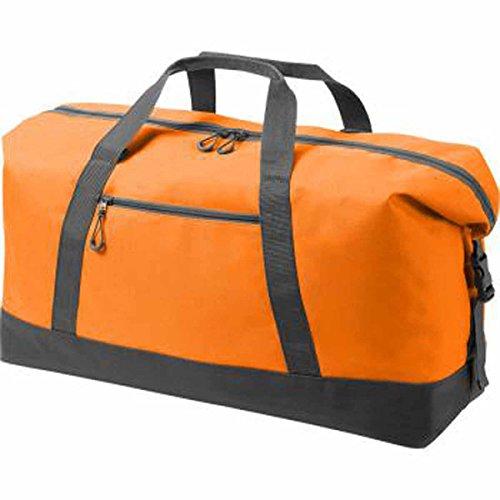 Halfar–Sacchetto di sport–borsa di viaggio–�?808804 nero nero unica arancione