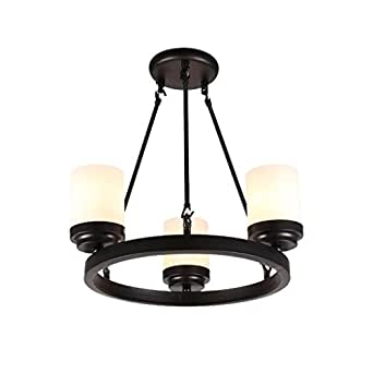 Megsyl vintage round iron chandelier american classic for American classic lighting