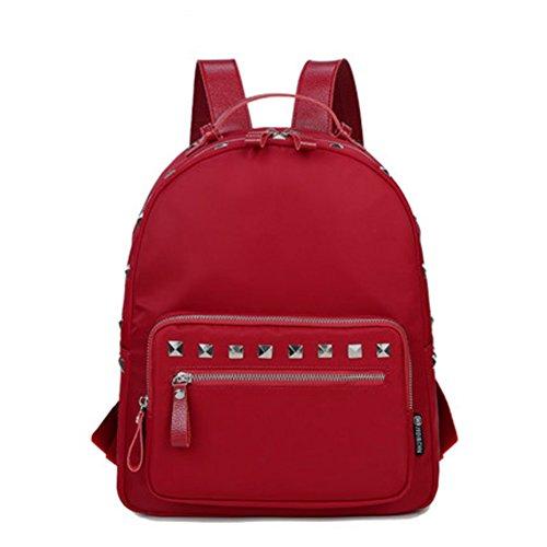 Sac à dos rivet/Fashion individualité sac de loisirs/ sac à dos en nylon sauvage-B C