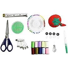 Kit Starter per Principianti per Cucire esenziale Spille da balia filo ago in custodia portatile di Curtzy TM - Cucito A Mano Ad Ago