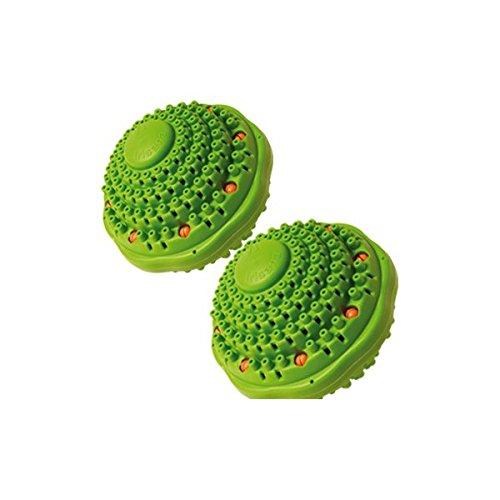 Irisana 72.IR20X2 - Ecobola doble para lavadora, color verde agua