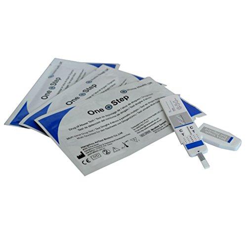 Kits de test drogue pour le Cannabis/Marijuana - Pack de 5 kits - One S